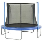 Upper Bounce® Replacement Trampoline Enclosure Net for 8' Round Frames with 4 Poles or 2 Ar - view number 4