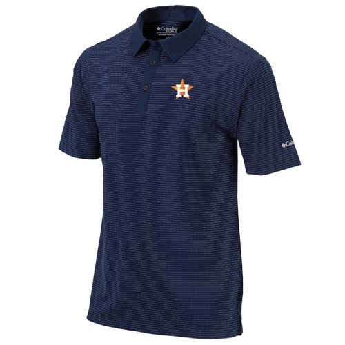Columbia Sportswear Men's Houston Astros Omni-Wick Sunday Polo Shirt
