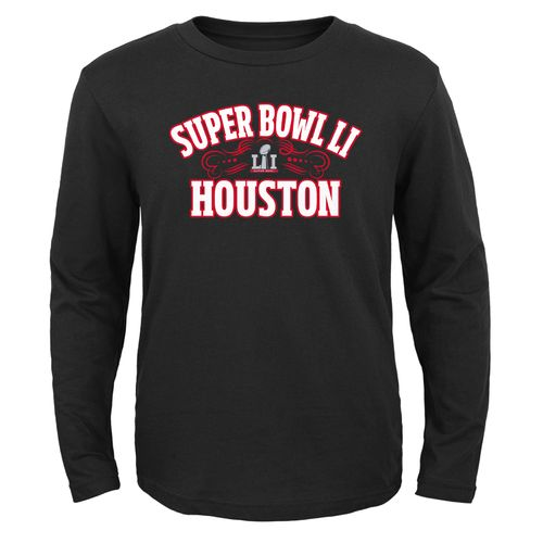 NFL Youth On the Grill Super Bowl 51 Long Sleeve Tee