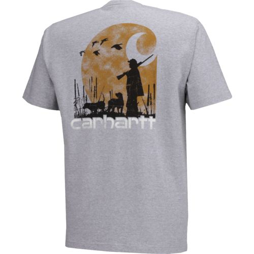 Carhartt Men's Workwear Graphic Branded C Pocket Short Sleeve T-shirt