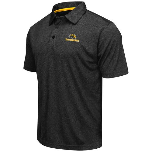 Colosseum Athletics™ Men's University of Southern Mississippi Academy Axis Polo Shirt - view number 1