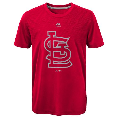 MLB Boys' St. Louis Cardinals Geo Fuse Fade T-shirt