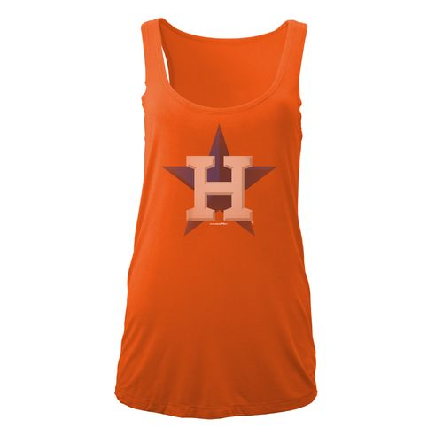 5th & Ocean Clothing Women's Houston Astros Fade Tank Top