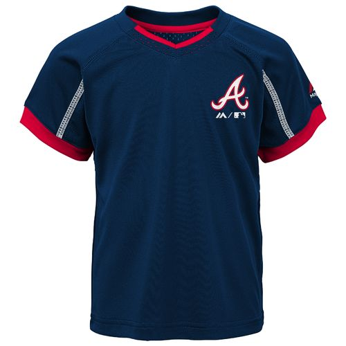 MLB Boys' Atlanta Braves Legacy Short Set