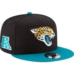New Era Men's Jacksonville Jaguars 9FIFTY Baycik Snapback Cap - view number 3
