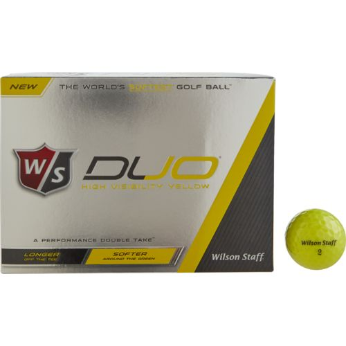 Display product reviews for Wilson Staff DUO Golf Balls 12-Pack