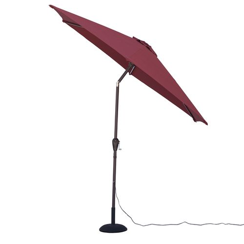 Quik Shade Ultra Brite Outdoor Warm Lighted Patio Umbrella - view number 5