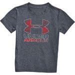 Under Armour Boys' Hybrid Big Logo Short Sleeve T-shirt - view number 4