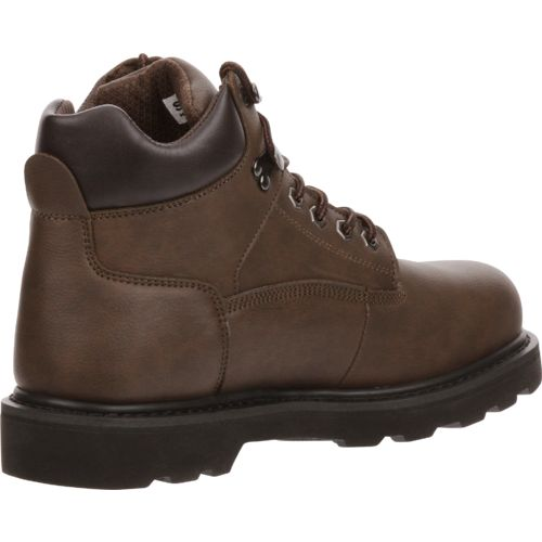 Brazos Men's Tradesman Steel-Toe Work Boots - view number 3