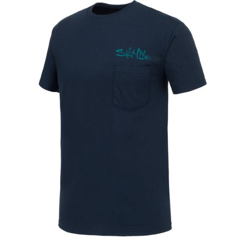 Salt Life Men's Sea Skull Short Sleeve T-shirt - view number 3