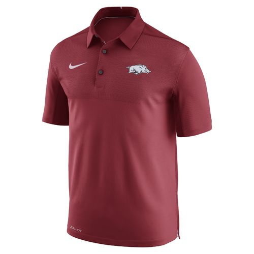 Nike™ Men's University of Arkansas Elite Polo Shirt