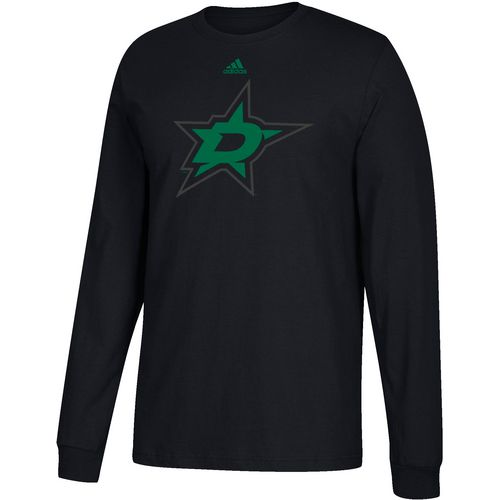 adidas Men's Dallas Stars Authentic Shear Speed Long Sleeve T-shirt