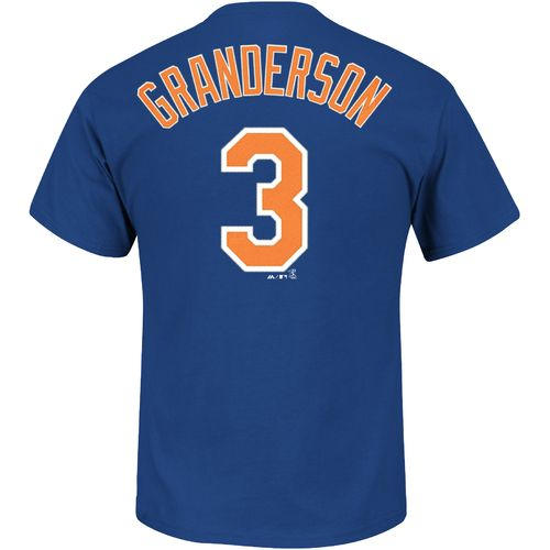 Majestic Men's New York Mets Curtis Granderson #3 T-shirt - view number 1