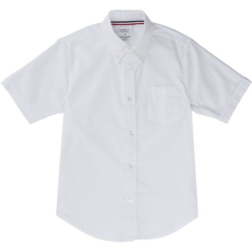 French Toast Toddler Boys' Short Sleeve Oxford Shirt