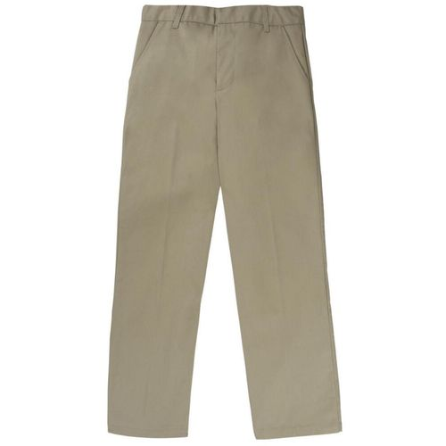French Toast Boys' Double Knee Workwear Finish Uniform Pant