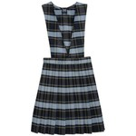 French Toast Girls' V-neck Pleated Plaid Jumper - view number 1