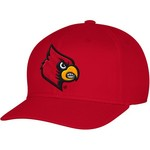 adidas Men's University of Louisville Structured Logo Flex Cap - view number 1