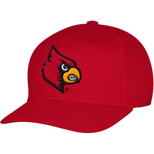 adidas Men's University of Louisville Structured Logo Flex Cap