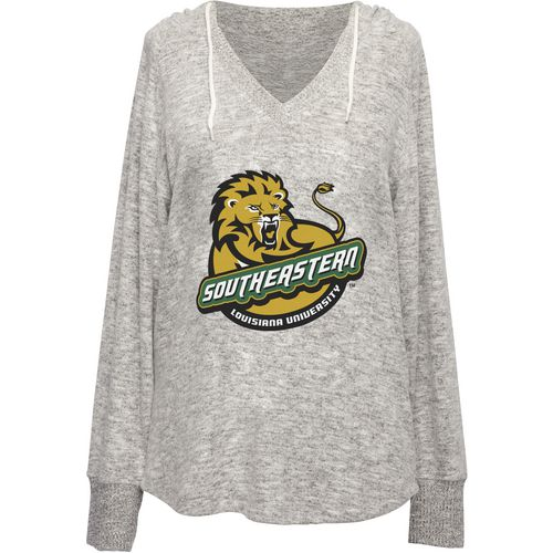 Chicka-d Women's Southeastern Louisiana University V-neck Hoodie