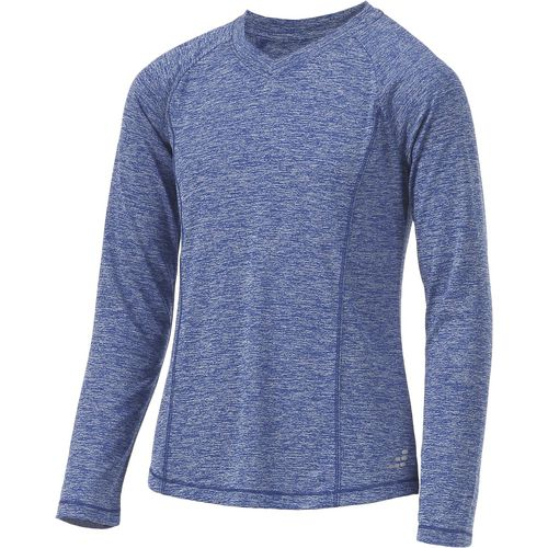 BCG Girls' Turbo Heather V-neck Training Shirt - view number 3