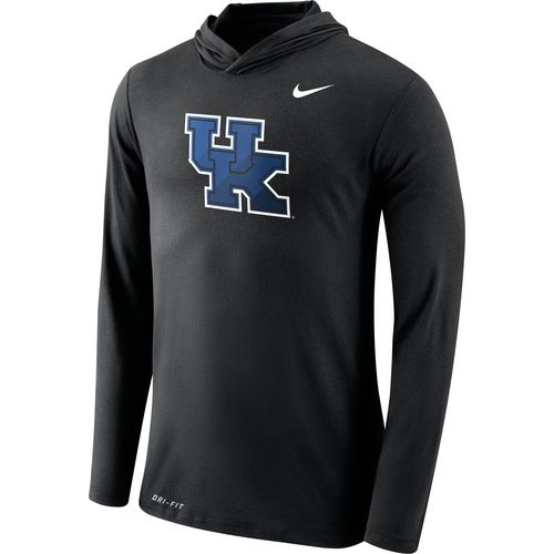 Nike Men's University of Kentucky Dri-Blend Long Sleeve Hoodie T-shirt