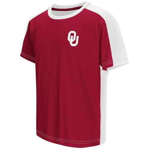 Colosseum Athletics Boys' University of Oklahoma Short Sleeve T-shirt