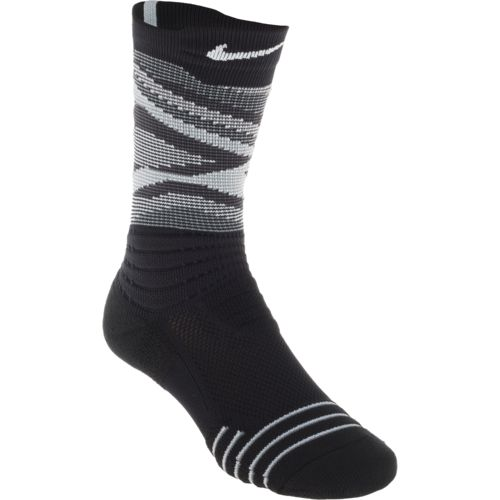 Nike Men's Elite Versatility Static Crew Basketball Socks