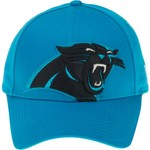 New Era Women's Carolina Panthers Glitter Glam 9FORTY Cap - view number 1