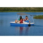 Sun Dolphin Water Wheeler ASL Electric Pedal Boat with Canopy - view number 6