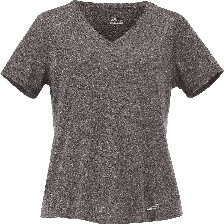 BCG Women's Turbo Plus Size V-neck Short Sleeve T-shirt