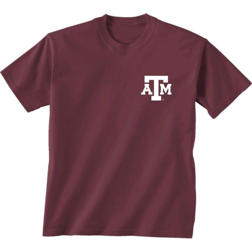 New World Graphics Women's Texas A&M University Comfort Color Initial Pattern T-shirt - view number 2