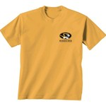 New World Graphics Women's University of Missouri Comfort Color Puff Arch T-shirt - view number 2
