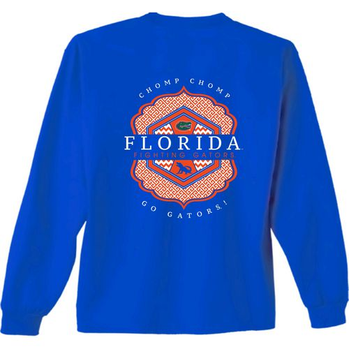 New World Graphics Women's University of Florida Faux Pocket Long Sleeve T-shirt
