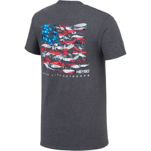 Heybo Men's Lure Flag Short Sleeve T-shirt - view number 2