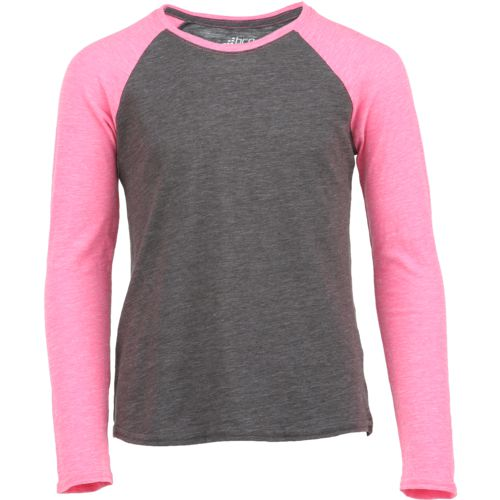 BCG Girls' Baseball Raglan Long Sleeve T-shirt