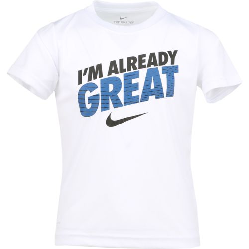 Nike Boys' I'm Already Great Dri-FIT T-shirt