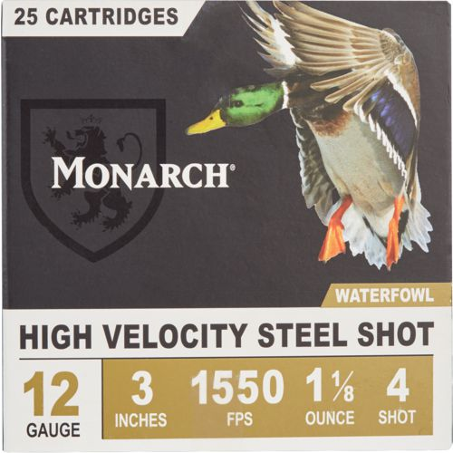 Monarch Waterfowl Magnum MAX DR 12 Gauge 4 Shotshells