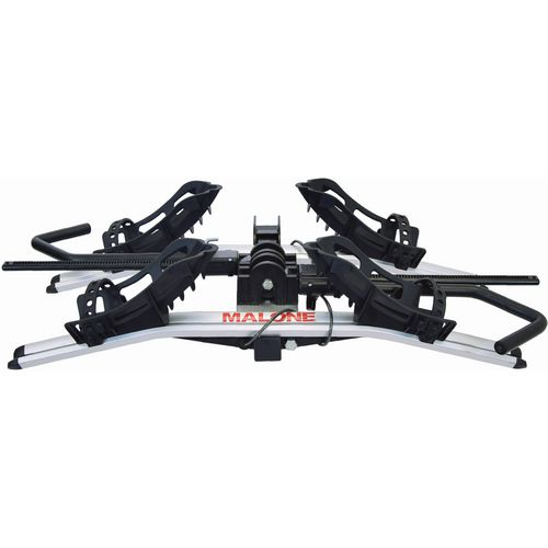 Malone Auto Racks Pilot HM2 Hitch Mount Platform Expandable 2-Bike Rack