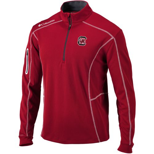 Columbia Sportswear Men's University of South Carolina Shotgun 1/4 Zip Pullover