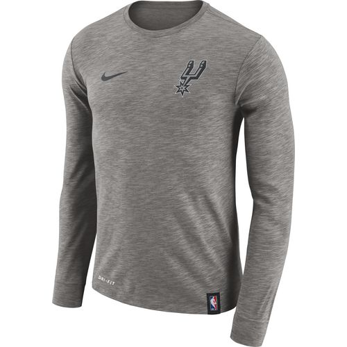 Nike Men's San Antonio Spurs Facility Long-Sleeve T-shirt