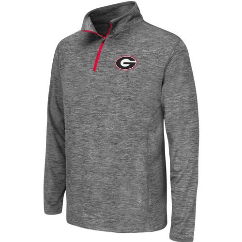 Colosseum Athletics Youth University of Georgia Action Pass 1/4 Zip Wind Shirt