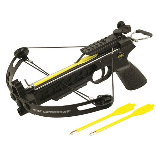 Display product reviews for BOLT Crossbows The Pitbull Compound Pistol Grip Crossbow