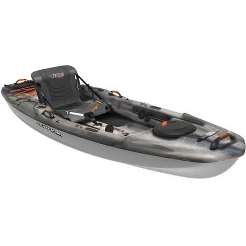 Pelican premium the catch 100 10 ft sit on top fishing for Fishing kayak academy