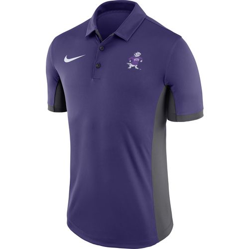 Display product reviews for Nike™ Men's Texas Christian University Dri-FIT Evergreen Polo Shirt