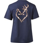 Browning Women's Classic Foil Buckheart T-shirt - view number 2