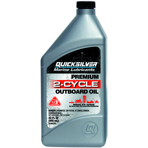 Quicksilver 1 qt. Premium 2-Cycle Outboard Oil