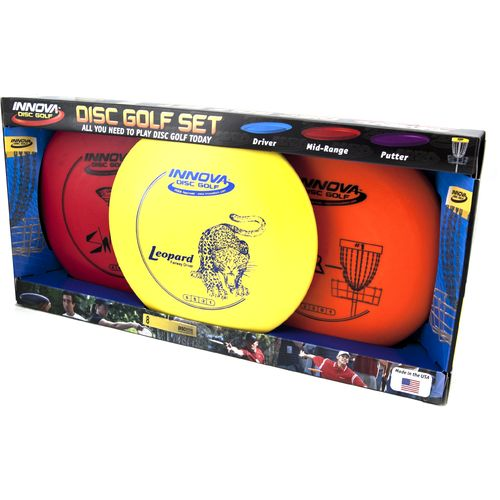Image for Innova Disc Golf DX Disc Golf Set from Academy