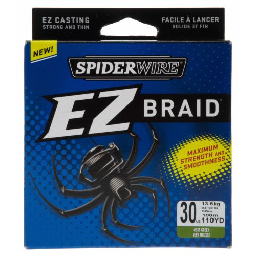 Spiderwire® EZ BRAID™  30 lb. - 110 yards Braided Fishing Line