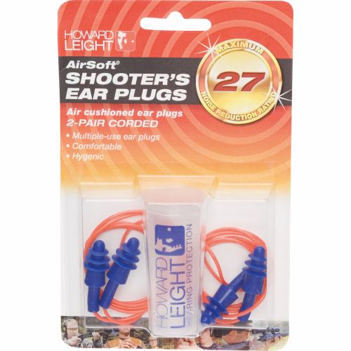 Display product reviews for Howard Leight Airsoft® Multiple-Use Earplugs 2-Pack