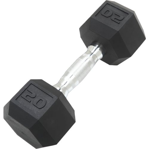 CAP Barbell 20 lb. Coated Hex Dumbbell
